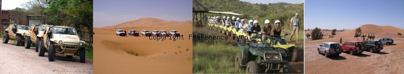 organisation evenement raid quad sud Maroc
