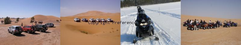 Image agence événementielle raid sud Maroc