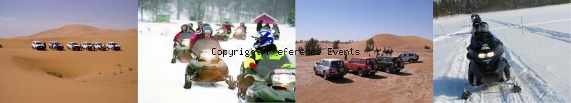 Image agence événementielle raid quad sud Maroc