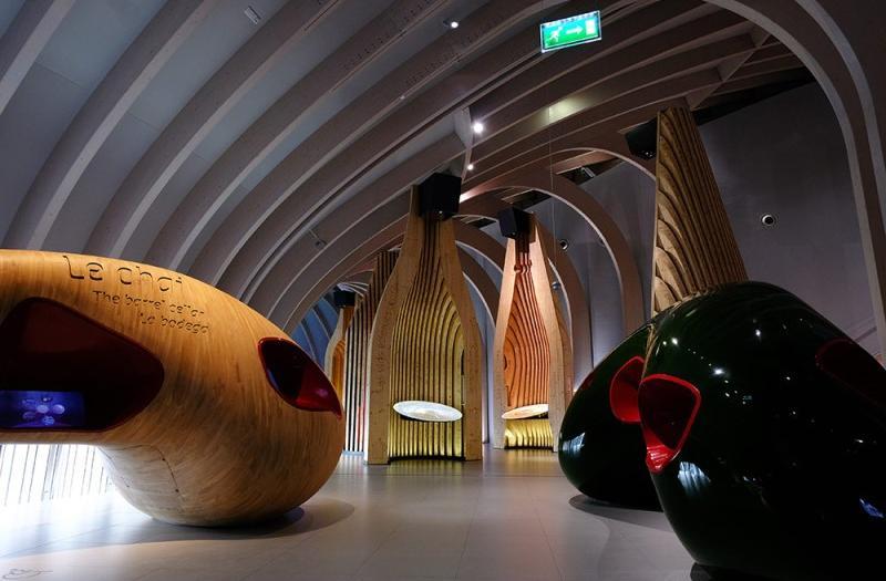 Organisation de soirees a la cite du vin par PREFERENCE EVENTS