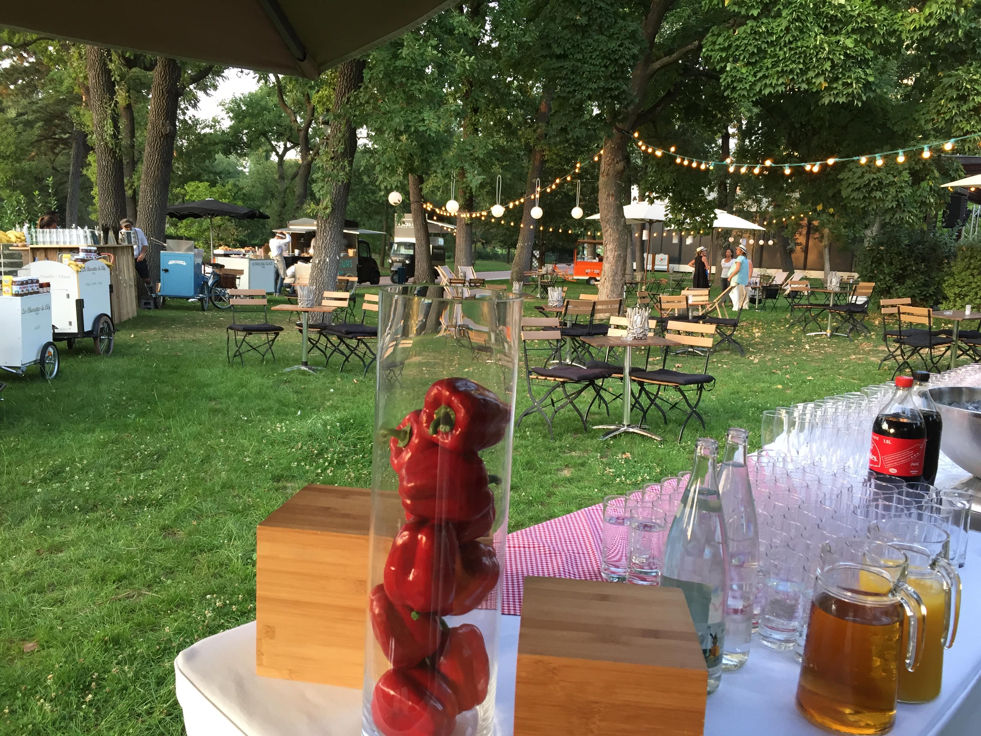 Organisation de soirees guinguette au jardin d'acclimatation par PREFERENCE EVENTS